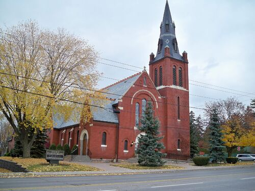 Church near Parkville Estate