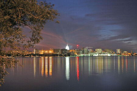 Madison Wisconsin night