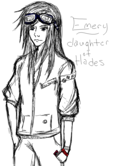 Emery- daughter of hades