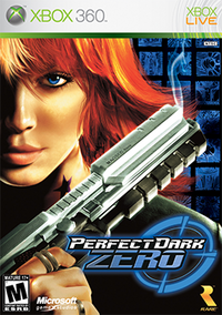Perfect Dark Zero Coverart