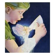 Book-illustration-of-tinkerbell-saving-peter-pan-by-roy-best
