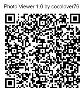 Photo viewer qr code