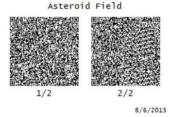 AsteroidFieldQR