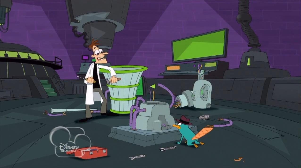 Phineas And Ferb Dr Doofenshmirtz Building 0644  July 16  2011