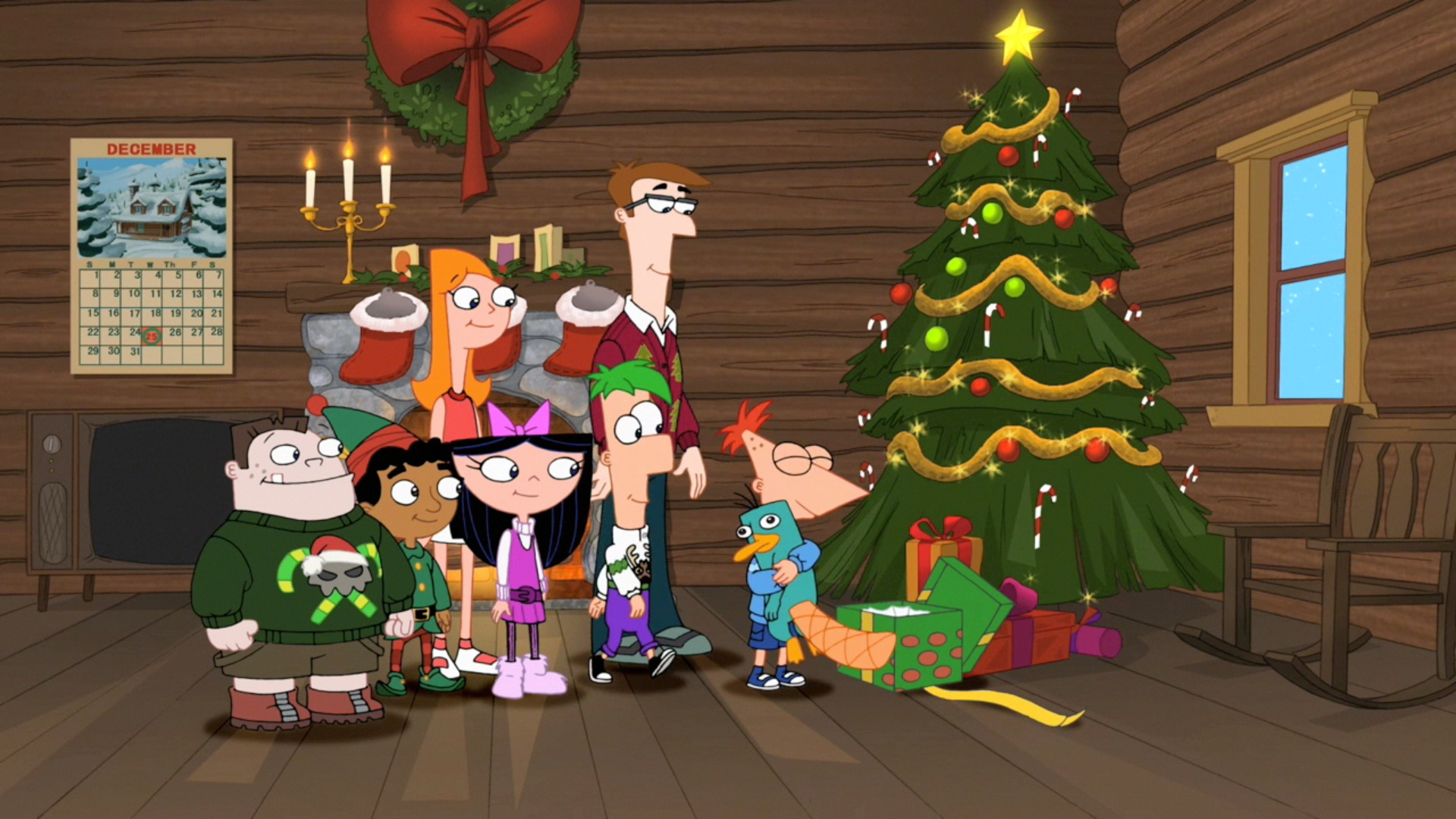 A Phineas and Ferb Family Christmas | Phineas and Ferb Wiki ...