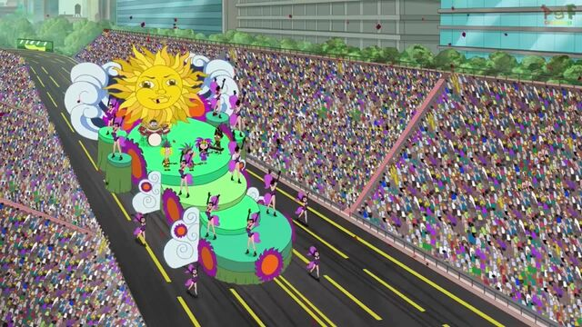 File:The gang atop a float in a parade in New Orleans, Lousiana.jpg