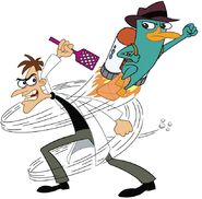 Perry and doof swat