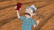 326b - Farmer with a Cell Phone