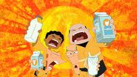 Sweat milk