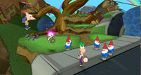 Across the Second Dimension Wii screenshot 3