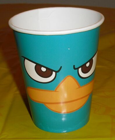 File:Hallmark 9 ounce Perry face paper cup.jpg