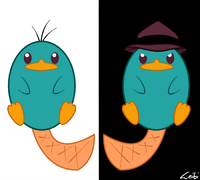 Perry the Platypus, by Leibi97