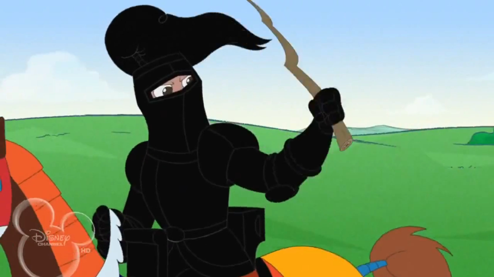 black knight of worcestershire phineas and ferb wiki
