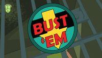 Bust 'Em Logo