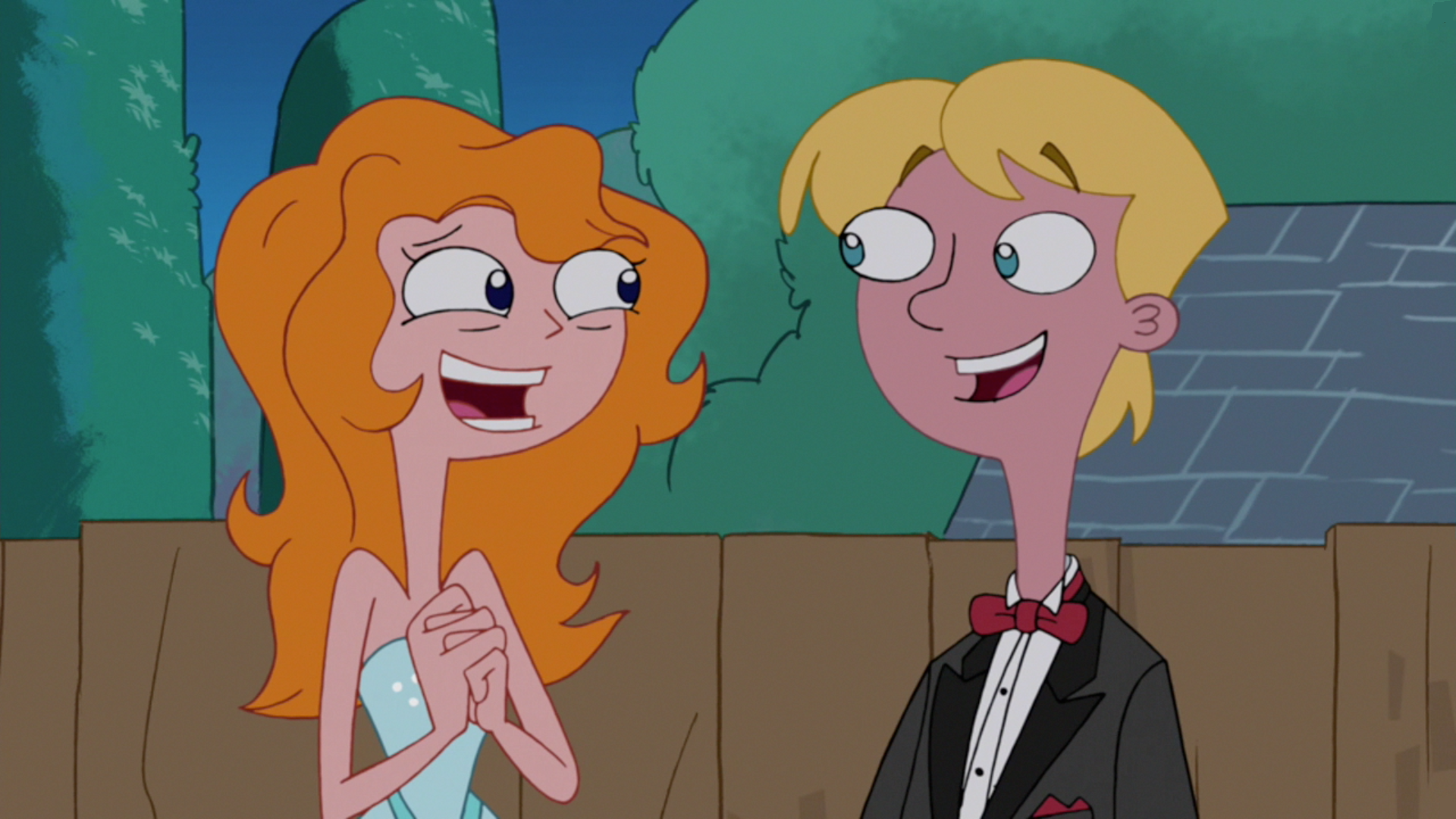 Image - Candace and Jeremy in formal attire.png | Phineas ...