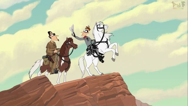 File:The two Doofs as the Lone Ranger and Tonto.jpg