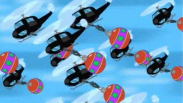 File:Helicopters carry giant ornaments.jpg
