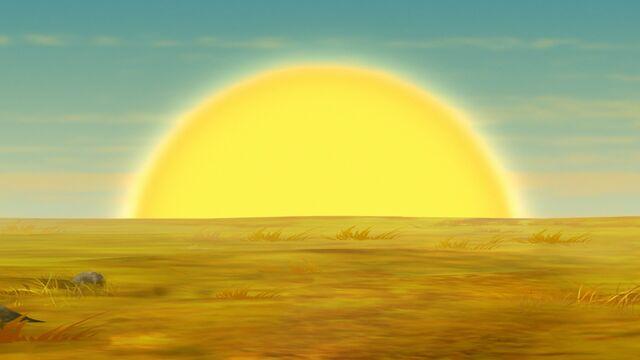 File:Sun rising in Africa.jpg