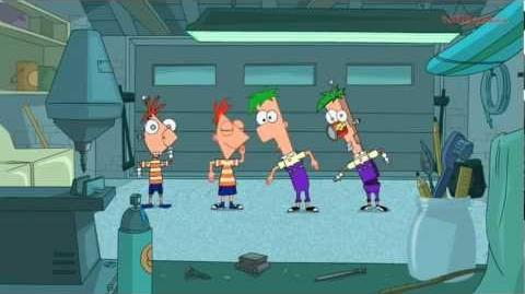Phineas and Ferb - Phinedroids and Ferbots