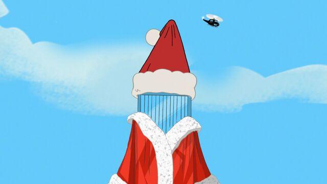 File:Building dressed like Santa Clause.jpg