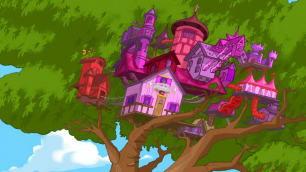 Image - Candace's new tree house.png   Phineas and Ferb ...
