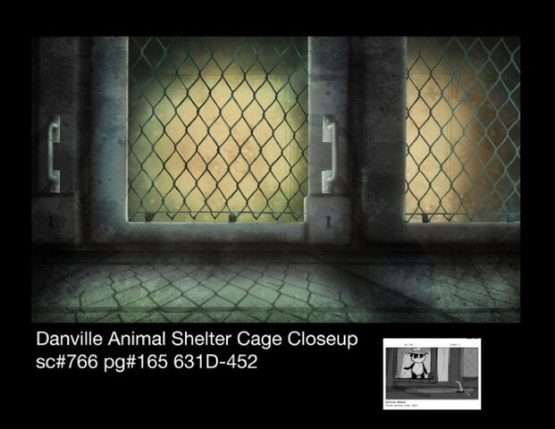 File:Danville animal shelter cage closeup winter.jpg