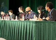 Richard Horvitz, Quinton Flynn, Kevin Michael Richardson, Grey DeLisle, & Phil LaMarr - ECCC 2013