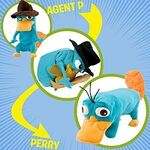 Perry Transforming plushie