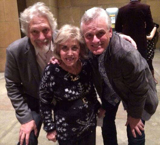 File:Rob Paulsen, Clancy Brown, & June Foray.jpg