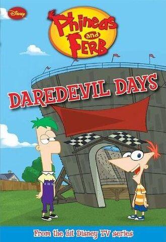 File:Daredevil Days - promotional cover.jpg