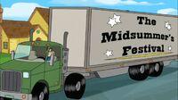 Midsummer's Festival truck close up