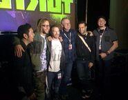 Rob Paulsen, Seth Green, Brandon Auman, Ciro Nieli, Greg Cipes, & Eric Bauza