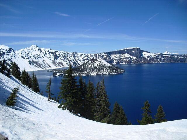 File:Wizard Island, Crater Lake.jpg