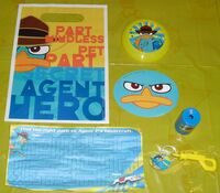 Hallmark party favor pack - components