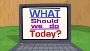 What should we do today?