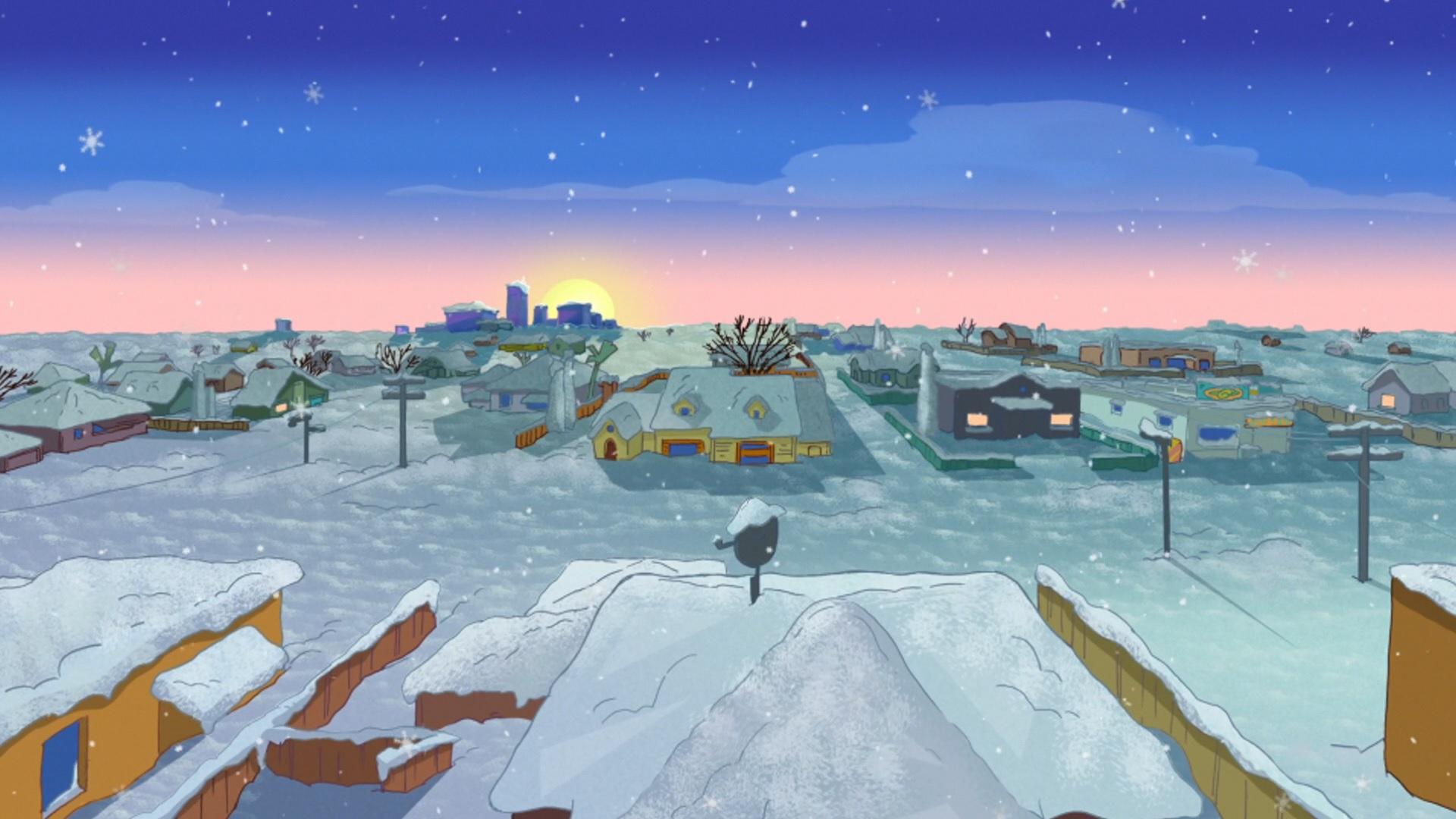 Panoramio - Photo of Snowy Neighborhood