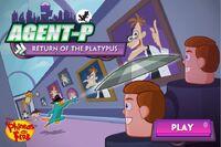 Menu - Agent P - Return of the Platypus