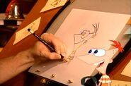 Dan draws Phineas