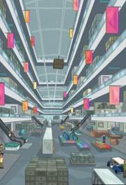 Superduper Mega Superstore interior