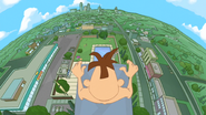 Doofenshmirtz Looking Down From High Dive