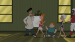 Candace and an Artist