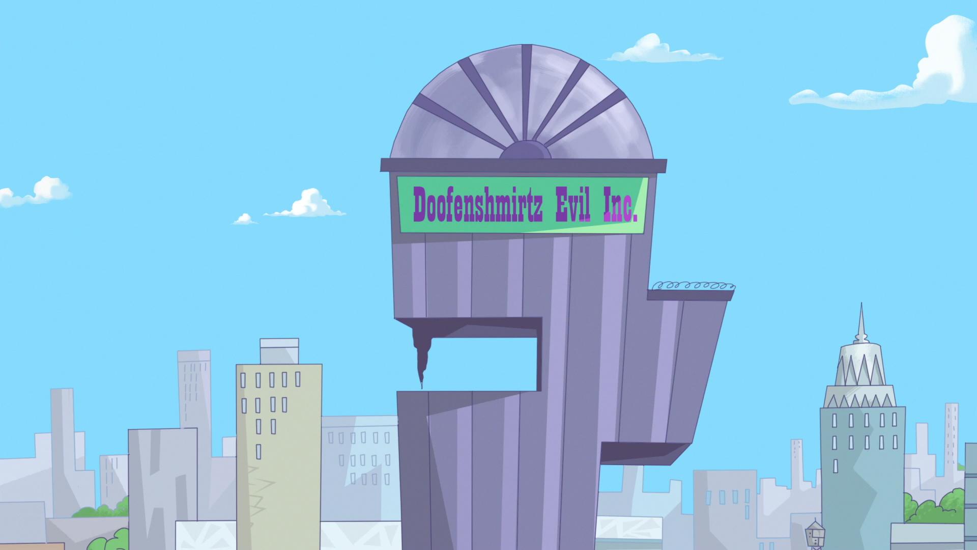 doofenshmirtz evil incorporated phineas and ferb wiki fandom