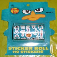 Phineas and Ferb Sticker Roll
