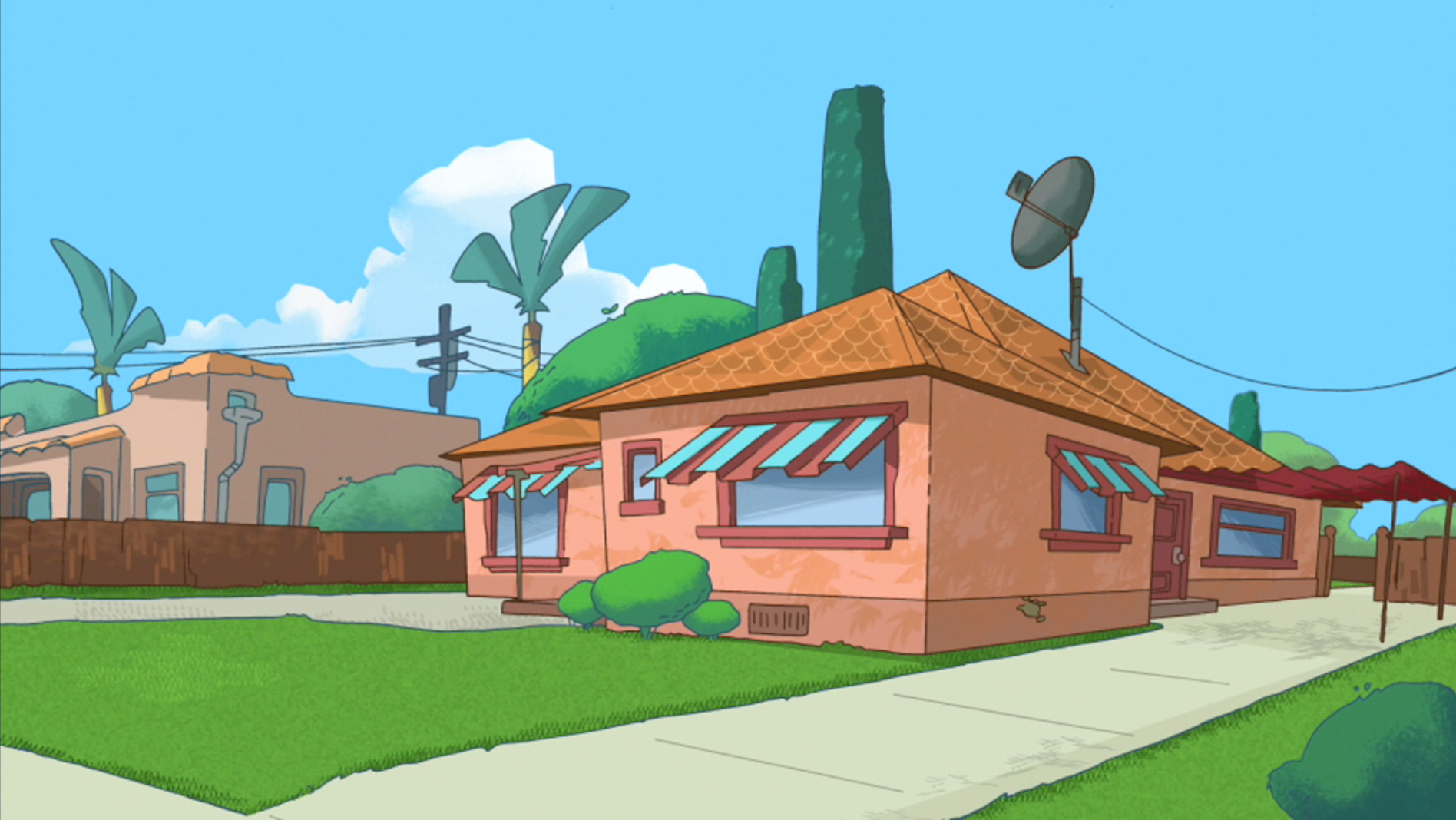 Garcia shapiro house phineas and ferb wiki fandom for Isabella house