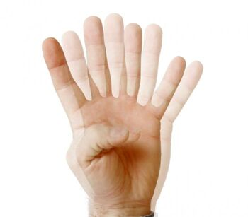 Double Vision Fingers