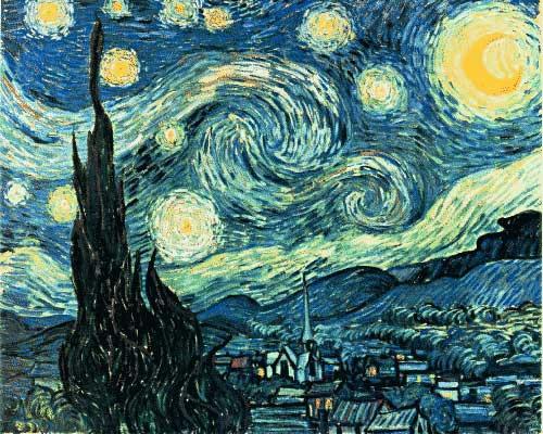Van Gogh Starry Night High Resolution The Starry Night by Van Gogh