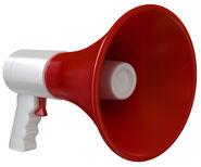 Pluck megaphone