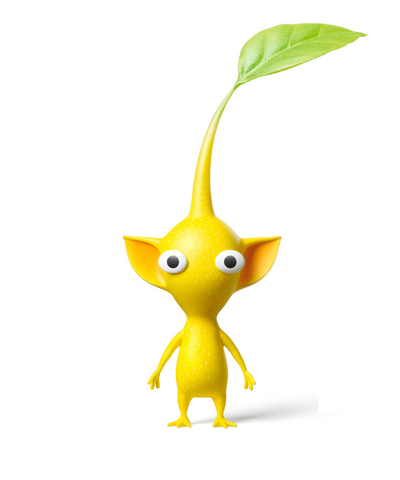 File:YellowPikminHD.png