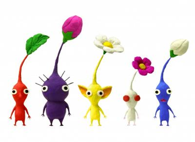 File:Original Pikmin with second generation.jpeg