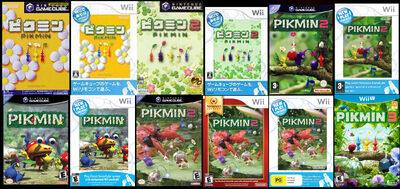 All Pikmin Games2